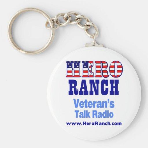 Hero Ranch Veteran's Talk Radio! Keychains