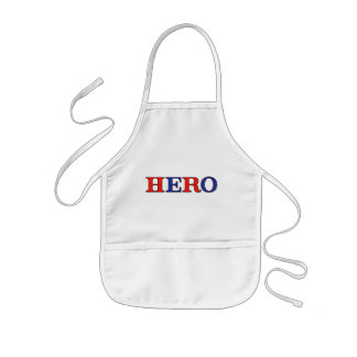 HERO Red, White, and Blue Kids' Apron
