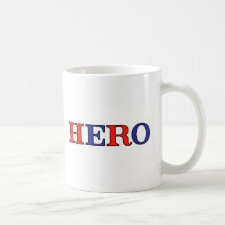 HERO Red, White, and Blue Coffee Mug
