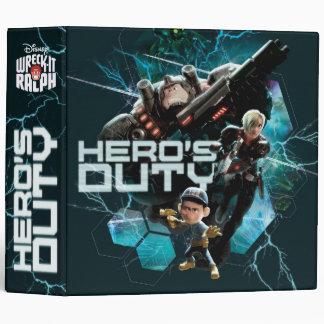 Hero s Duty 1 Vinyl Binder