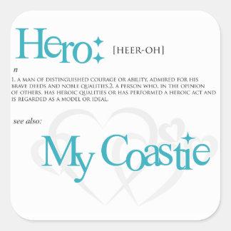 Hero Square Sticker