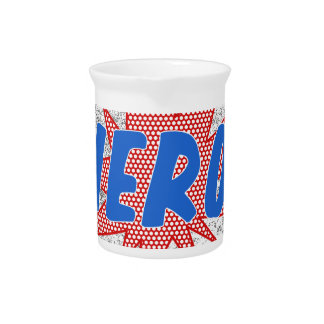 Hero star design beverage pitcher