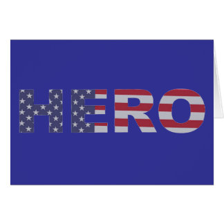Hero Stars and Stripes Card