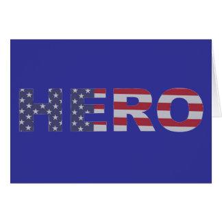 Hero Stars and Stripes Card
