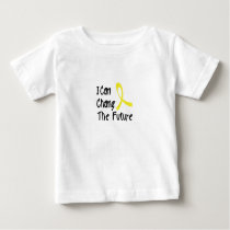 Hero Strong Childhood Cancer Awareness support Baby T-Shirt
