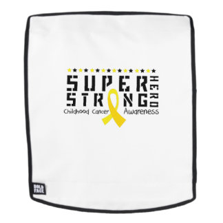 Hero Strong Childhood Cancer Awareness support Backpack