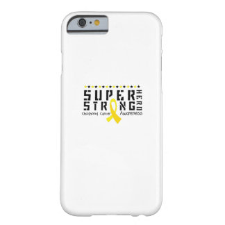 Hero Strong Childhood Cancer Awareness support Barely There iPhone 6 Case