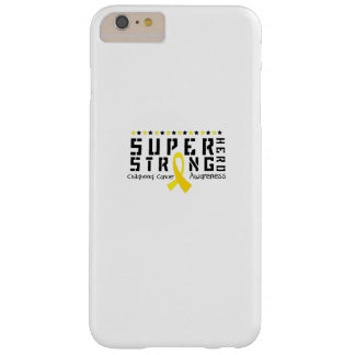 Hero Strong Childhood Cancer Awareness support Barely There iPhone 6 Plus Case