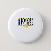 Hero Strong Childhood Cancer Awareness support Button
