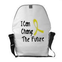 Hero Strong Childhood Cancer Awareness support Courier Bag
