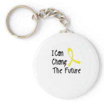 Hero Strong Childhood Cancer Awareness support Keychain