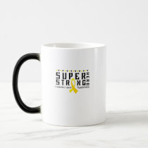 Hero Strong Childhood Cancer Awareness support Magic Mug