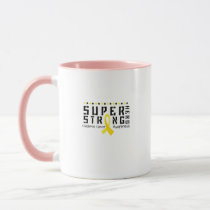 Hero Strong Childhood Cancer Awareness support Mug