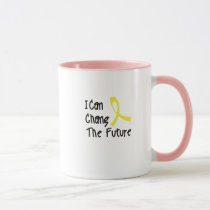 Hero Strong Childhood Cancer Awareness support Mug