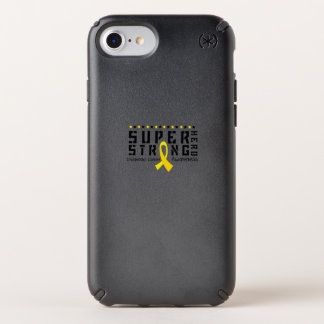 Hero Strong Childhood Cancer Awareness support Speck iPhone Case