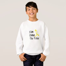 Hero Strong Childhood Cancer Awareness support Sweatshirt