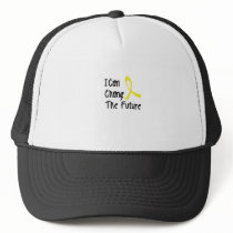 Hero Strong Childhood Cancer Awareness support Trucker Hat