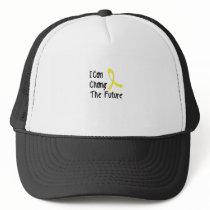 Hero Strong Childhood Cancer Awareness support Trucker Hat