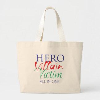 Hero Villain Victim - All in One Bags