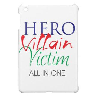Hero Villain Victim - All in One iPad Mini Cover