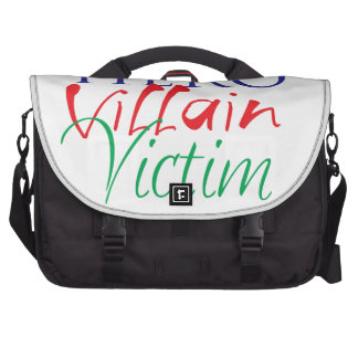 Hero Villain Victim - All in One Commuter Bags