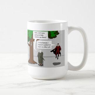 Hero vs Villian Coffee Mug