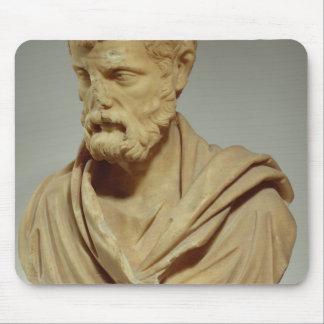 Herodes Atticus, marble head, Roman, 101-80 AD, pr Mouse Pad