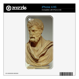 Herodes Atticus, marble head, Roman, 101-80 AD, pr Skins For The iPhone 4S