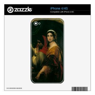 herodias fine art iPhone 4 decals