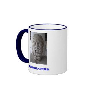 Herodotus Mug* / Ο Ηρόδοτος Κούπα Ringer Mug