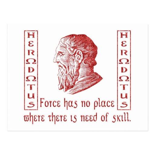 Herodotus Postcard