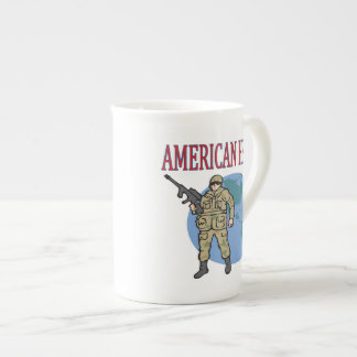 Héroe americano tazas de china