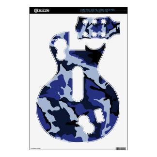 Héroe azul Les pieles Xbox360 y PS3 de Paul de la Guitar Hero Calcomanías
