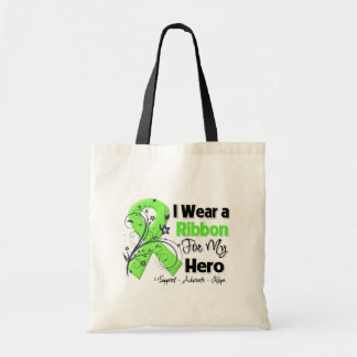 Héroe - cinta del linfoma bolsas de mano