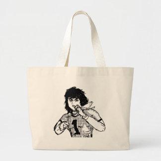 Héroe cómico japonés bolsas