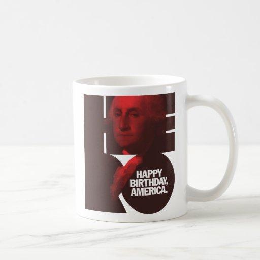 Héroe de George Washington Tazas De Café