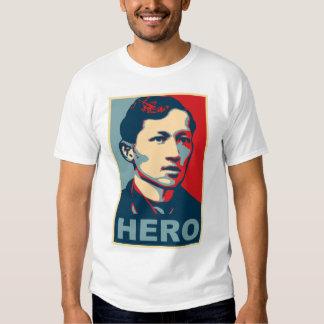 Héroe de Jose Rizal Playeras