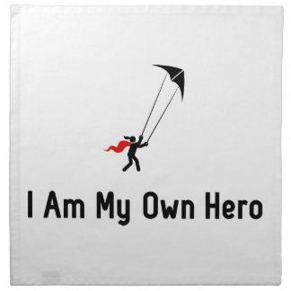 Héroe de Kiting del truco Servilletas De Papel