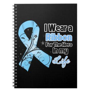 Héroe de la cinta de la enfermedad de sepulcros en cuadernos