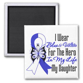 Héroe de la cinta del ALS en mi vida mi hija Imán Cuadrado