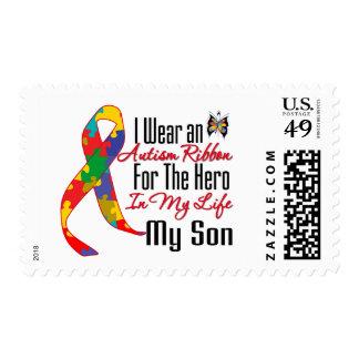 Héroe de la cinta del autismo en mi vida mi hijo franqueo