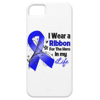 Héroe de la cinta del cáncer de colon en mi vida 2 iPhone 5 carcasa