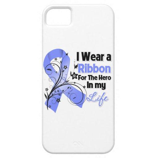Héroe de la cinta del cáncer de estómago en mi vid iPhone 5 carcasa