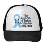 Héroe de la cinta del cáncer de próstata mi papá gorras