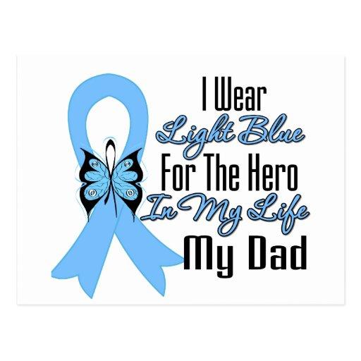 Héroe de la cinta del cáncer de próstata mi papá postal