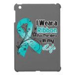 Héroe de la cinta del cáncer ovárico en mi vida iPad mini coberturas