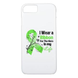 Héroe de la cinta del linfoma de Non-Hodgkins en Funda iPhone 7