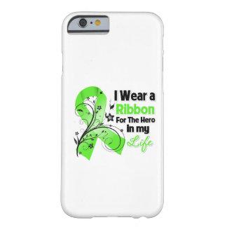 Héroe de la cinta del linfoma de Non-Hodgkins en Funda Para iPhone 6 Barely There