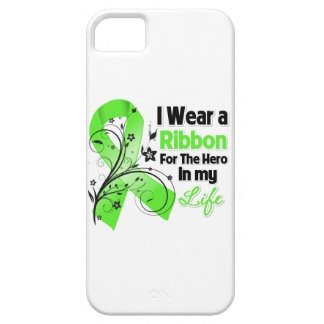Héroe de la cinta del linfoma de Non-Hodgkins en Funda Para iPhone SE/5/5s