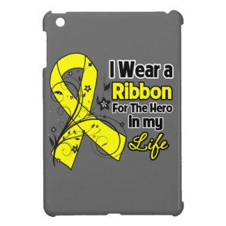 Héroe de la cinta del osteosarcoma en mi vida iPad mini funda